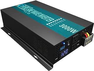 Best 3000 watt continuous 6000 watt peak power inverter Reviews
