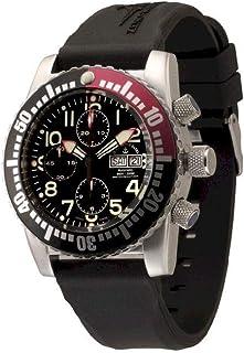 Zeno Watch Basel - Reloj para Hombre Analógico Automático con Brazalete de Silicona 6349TVDD-12-a1-7