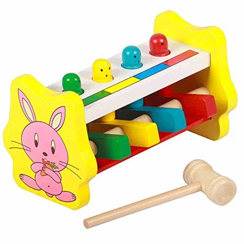 Jouets FEI Toy Toy à Battre en Bois Début Éducation