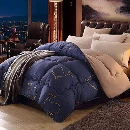 Luxurious duvets, feather core, two blankets, large quilts, duvets spring and autumn, the hotel home, classic duvet, 150x200cm 2kg