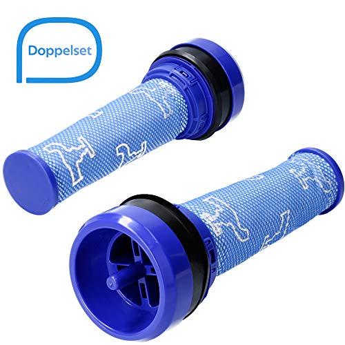 Vormotorfilter geeignet für Dyson DC28, DC33, DC37, DC39, DC41 und DC53, Alternative für Motorfilter 923413-01 - 2 Filter