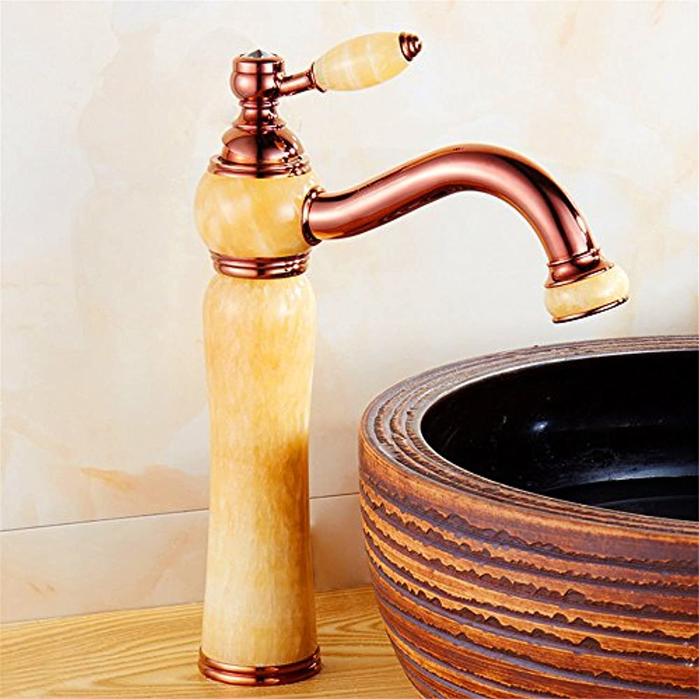 ETERNAL QUALITY Badezimmer Waschbecken Wasserhahn Messing Hahn Waschraum Mischer Mischbatterie Tippen Sie auf die Unter Tabelle gieen Kaltes Wasser am Waschbecken Armatu