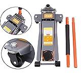Ambienceo 3 TON Heavy Duty Low Profile Idraulico Garage Trolley Floor Jack per Auto Garage Officina