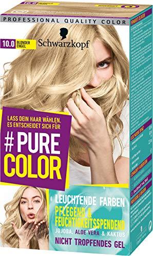 SCHWARZKOPF #PURE COLOR Coloration 10.0 Blonder Engel Stufe 3, 1er Pack (1 x 143 ml)