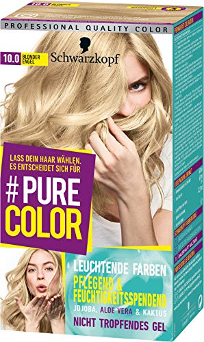SCHWARZKOPF #PURE COLOR Coloration 10.0 Blonder Engel Stufe 3, 1er Pack (1 x 143 ml)