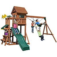 Swing-N-Slide Playful Palace Swing Set