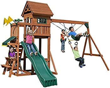 Swing-N-Slide Playful Palace Swing Set