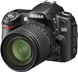 Nikon D80 Appareil photo numérique Reflex 10.2 Kit Objectif AF-S DX 18-135 mm Noir