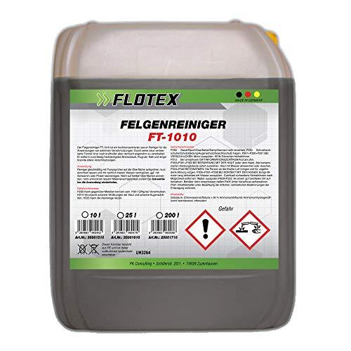Flotex Felgenreiniger Konzentrat, 10L Auto Felgen Reiniger Pflege