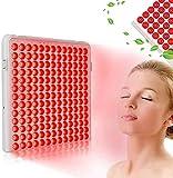 PGKCCNT Lámpara de Belleza de luz roja 24w, DIRIGIÓ Calor Blub Rojo con Rojo Profundo 660nm y Cerca de luz roja 850nm LED Panel de luz para Alivio de Dolor en la articulación Muscular