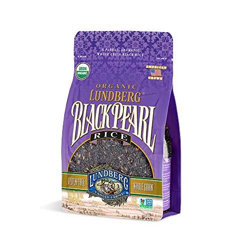 Lundberg Family Farms - Organic Black Pearl Rice, Floral & Aromatic Whole Grain Black Rice, High in...