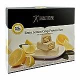 BariatricPal Low Carb Protein Bars - Zesty Lemon Crisp One Box
