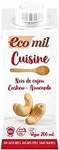 Noix de cajou (Nata vegetal de anacardo), 200 ml, sin glúten, sin azúcar añadido
