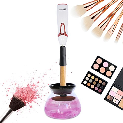 Beautify Beauties Electronic Makeup Brush Cleaner - Best Makeup Brush Cleaner Machine - Spinning Makeup Brush Cleaner