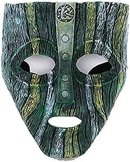 MICG Resin Loki Mask Deluxe Jim Carrey The Mask Halloween Fancy Dress Costume (Loki)