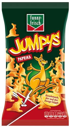 funny-frisch Jumpys Paprika - 75gr - 6x