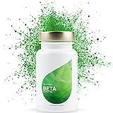 LEOVita Beta Carotin • Bräunungskapseln • für einen gesunden Teint • Carotin Kapseln hochdosiert • 100 Kapseln • 100% Vegan •...