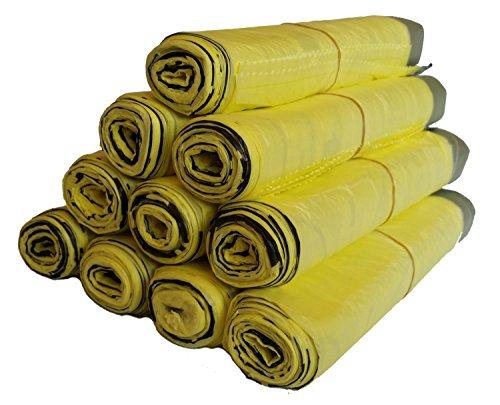 5 bis 100 Rollen Gelber Sack, Gelbe Säcke (10 Rollen)