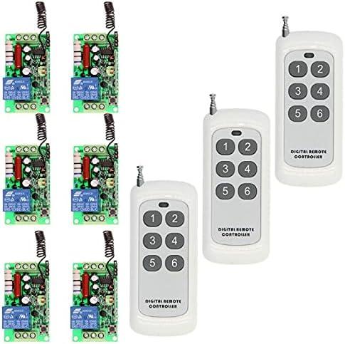 500m AC 220V 110V 1 CH Albuquerque Mall 1CH Light RF Wireless unisex LED Remote Control