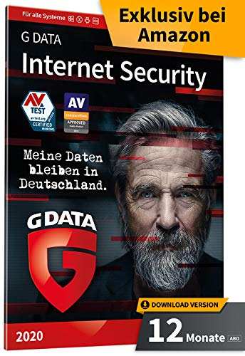 G DATA Internet Security 2020 | 10 PC - 1 Jahr | Download - Jährliches Abo | Windows, Mac, Android, iOS | Made in Germany