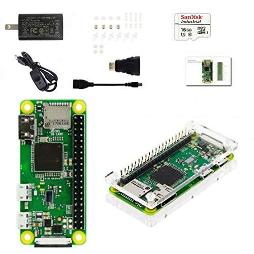 Raspberry Pi Zero WH ボード&ケースセット 3ple Decker 対応-Physical Computing Lab