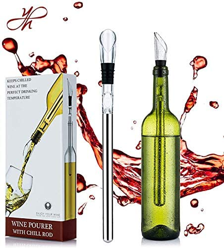 YouYah Wine Chiller Max 56% OFF Financial sales sale Stick 3-in-1 Bottle Stainless Coo Steel