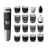 Philips Multigroom Series 5000 Corded/Cordless with 17 Trimming Accessories, DualCut Technology, Lithium-Ion