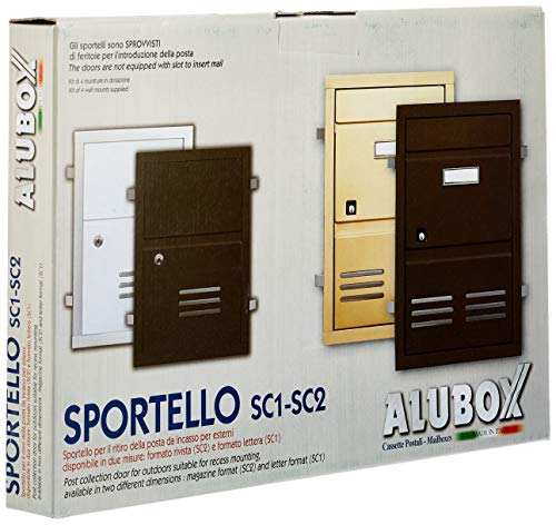 Alubox 47365 Cassetta Postale