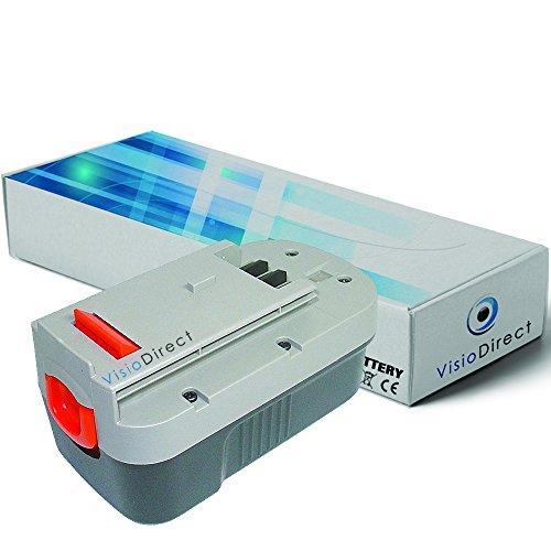 Batterie pour Black et Decker Firestorm FS18HV aspirateur à main 3000mAh 18V - Visiodirect -