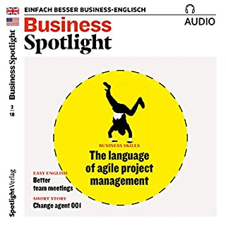 Business Spotlight Audio - Agile project management. 2/2018 Titelbild