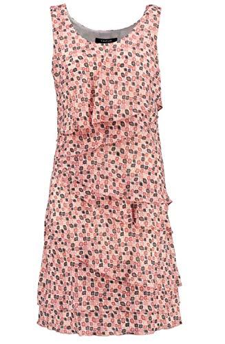 TAIFUN by Gerry Weber Damen Sweet 780036-11052 Kleid, Mehrfarbig (Flamingo Druck 3001), 36