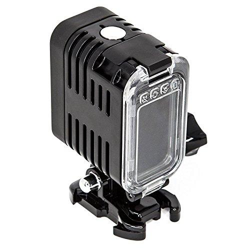 Hangang Taucherleuchten,Unterwasserlicht 30m wasserdicht Sidekick Side LED Flash Spot Flut Beleuchtung Kamera Zubehör (2)