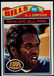 Football NFL 1977 Topps #100 O.J. Simpson Bills