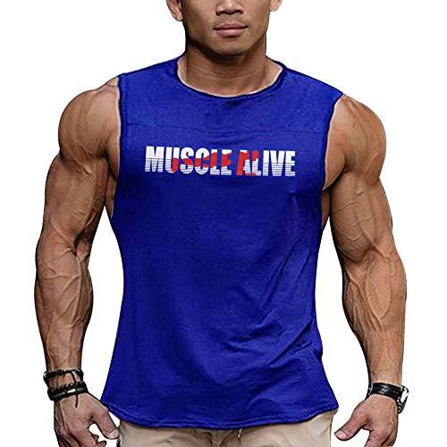 Muscle Alive Uomo Slub Henley Maglietta Manica Corta Leggero vestibilit/à Morbida Casuale con 3 Pulsanti abbottonatura Girocollo Camicie