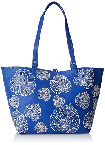 Desigual - Bols_attalea Capri, Shoppers y bolsos de hombro Mujer, Blau (Navy), 28x13x30 cm (B x H T)