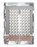 Tex family Cortina Coral Beige 160 x 300 cm confeccionada en Italia mezcla lino