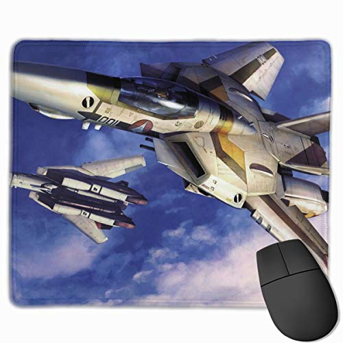 Curtis J Donofrio Macross Frontier Manga Anime Mouse Pad Soft Gaming Mouse Pad Non-Slip Rubber Base Mouse Mat Large(12'' X 10'') for Computers, Laptop, Office & Home