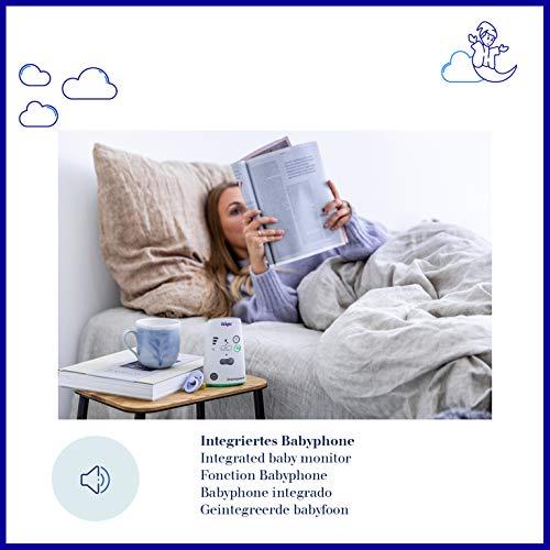 Dräger Dreamguard smarter Baby-Bewegungssensor mit integriertem Babyphone | Baby-Monitor mit App-Nutzung auf dem Smartphone | Für zuhause & unterwegs - 4