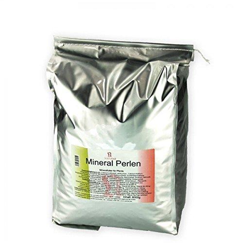 Natusat Mineralperlen 15 kg - Mineralfutter für Pferde mit Bockshornkleesamen, Hibiskus, Hagebutte, Brennnessel usw
