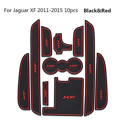 10PCS Car-Styling Latex Door Groove Mat Cubiertas para automóviles Gate Slot Mat...