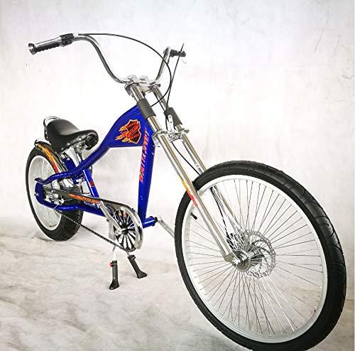 Rosetta Sport LA, Bicicleta baja tipo chopper, azul, 20