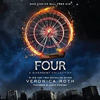 Four     A Divergent Collection              Written by:                                                                                                                                 Veronica Roth                               Narrated by:                                                                                                                                 Aaron Stanford                      Length: 6 hrs and 33 mins     9 ratings     Overall 4.7