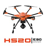Yuneec H520 + E90 System | H520 airframe, E90 3-axis Gimbal Camera, ST16S, Filter Ring, Two 520 Battery, Lanyard, Charging Cube