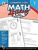 Carson Dellosa   Common Core Math 4 Today Workbook   1st Grade, 96pgs (Common Core 4 Today)