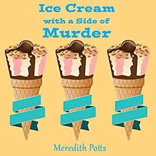 Ice Cream with a Side of Murder audiobook cover art