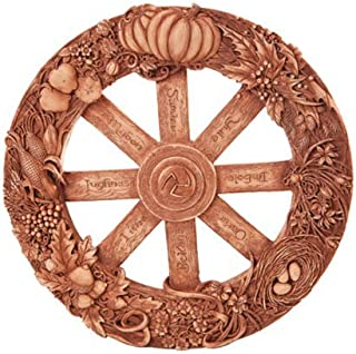 Pagan Wheel of The Year Wall Plaque