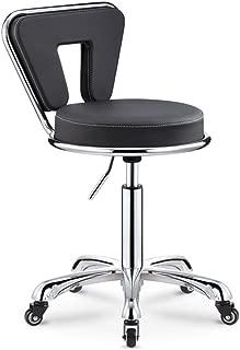 XUEYAN Chaise Bar  Style Moderne  avec elevateur gaz Rotatif reglable  Fauteuil Cuisine Famille  70-84 cm   Couleur