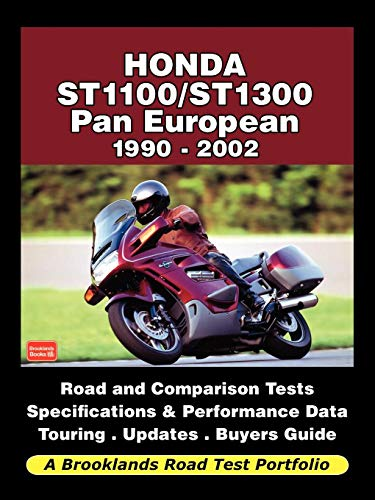 Honda St1100/St1300 Pan European 1990-2002 - Road Test Portfolio