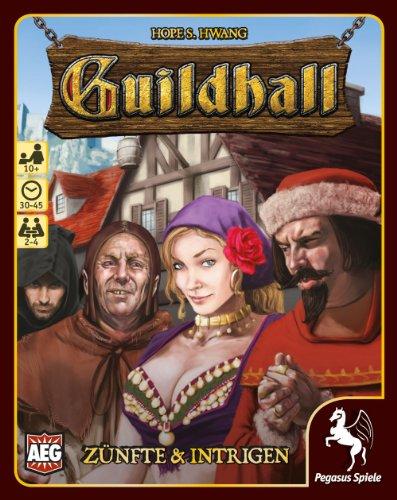 Pegasus Spiele 17270G - Guildhall Zünfte und Intrigen