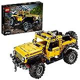 LEGO 42122 Technic Jeep Wrangler, Coche 4x4 de Juguete, Vehículo Off Roader SUV, Maqueta Set de Construcción